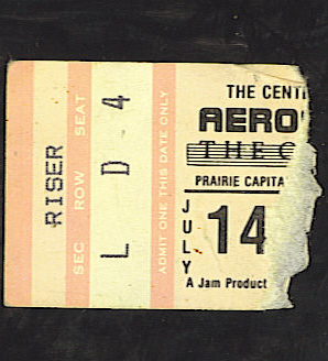 Ticket stub